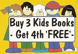 buy 3 kids books, get 4th free